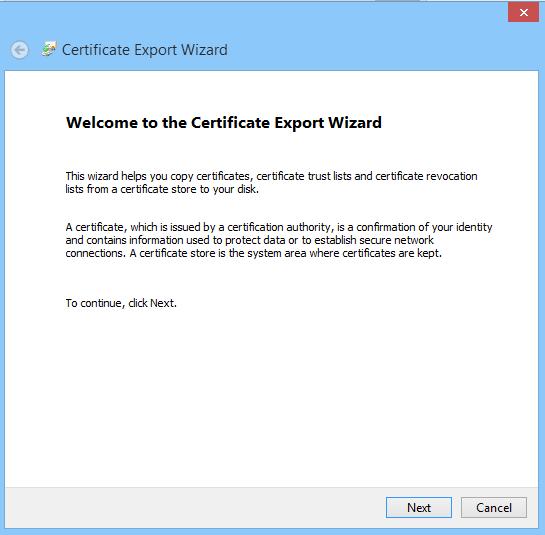 How to Export a Public Certificate - PKZIP/SecureZIP - PKWARE