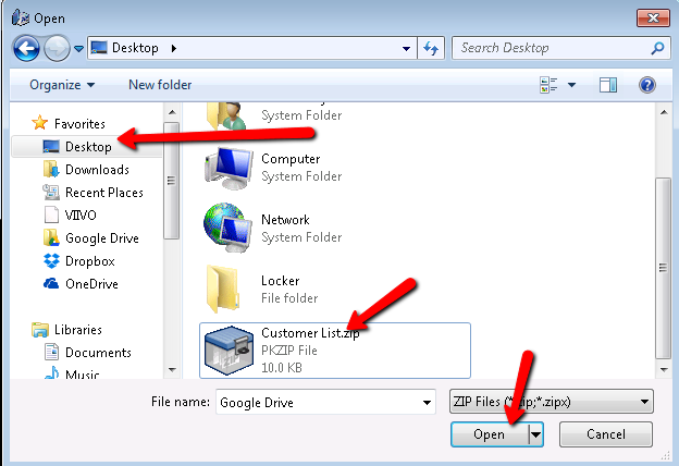 How to Extract a ZIP File Using ZIP Reader for Internet