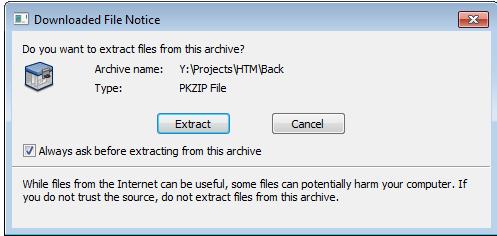 Downloaded File Notice - PKZIP/SecureZIP - PKWARE Support Site