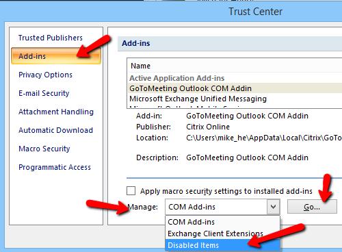 KB - Outlook attachments are disabled - PKZIP/SecureZIP