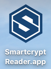 Smartcrypt logo as it appears on the desktop